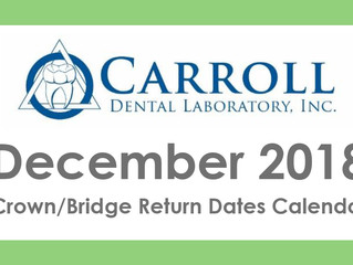 December Calendar and Holiday Closings!