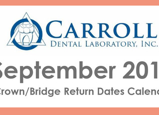 September Scheduling Calendar Now Available!
