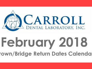 February Scheduling Calendar Now Available