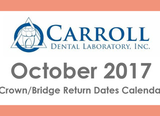 October Scheduling Calendar Now Available!