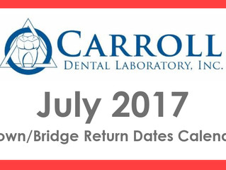 July Scheduling Calendar Now Available!