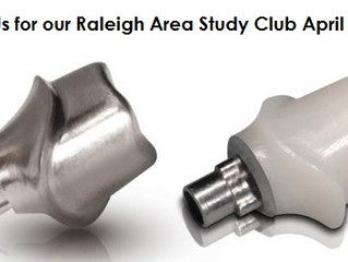 Raleigh Study Club: Custom Abutments - Join us!