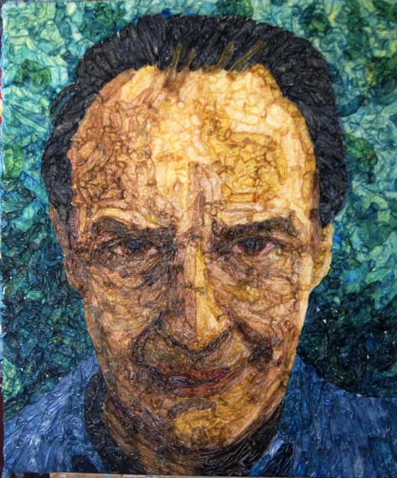 Unto Thyself (self-portrait)