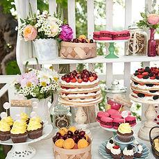 Hochzeitstorte und Desserts