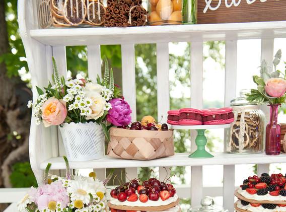 Sweet Wedding Dessert Table