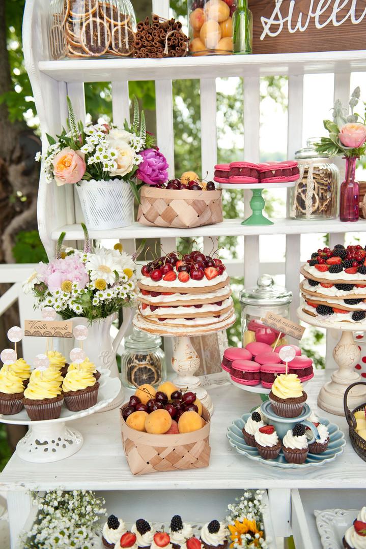 Desserts Hochzeit