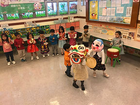 TYDN 新年舞獅活動( Chinese New Year Lion Dance