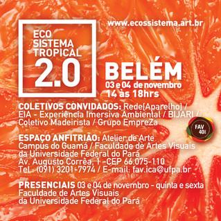 [pré evento Belém] Programação Ecossistema Tropical 2.0 em Belém