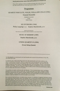 Anna Stokes Flute and the Emanuel Ensemble-Wigmore Hall-Maw at 70 Concert