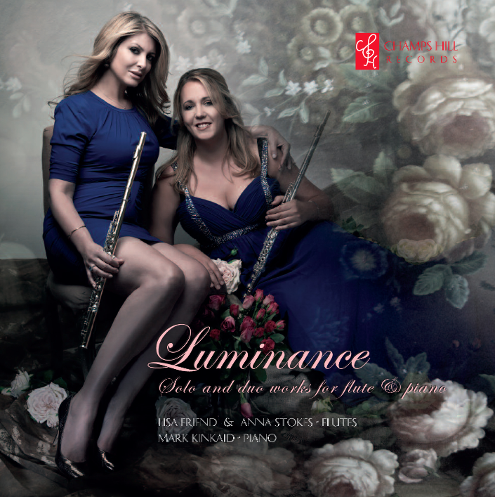 Luminance CD Cover Lisa friend-anna stokes-kinkaid