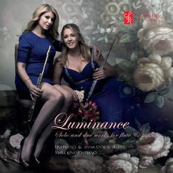 Luminance CD Cover Lisa friend-anna stokes-kinkaid