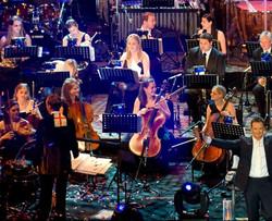 Anna Stokes Flute-Arts Symphonic - Royal Albert Hall Russell Watson Live
