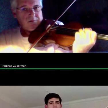 FIVA Masterclass with Pinchas Zukerman 2020