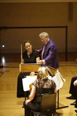 Emanuel Ensemble-Anna Stokes Flute -James Galway Masterclass Cadogan hall