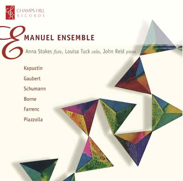 Anna Stokes Flute and the Emanuel Ensemble CD Cover small
