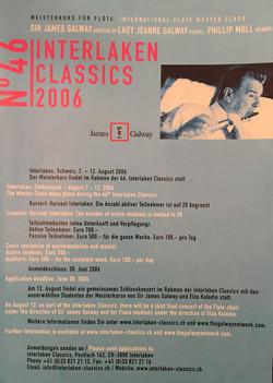 James Galway Masterclass 2006-Interlaken