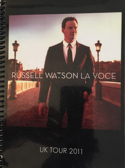Russell Watson La Voce Tour-Anna Stokes Flute