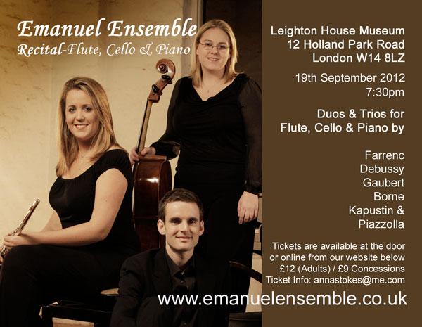 Emanuel-Ensemble-Anna Stokes-Leighton House Concert