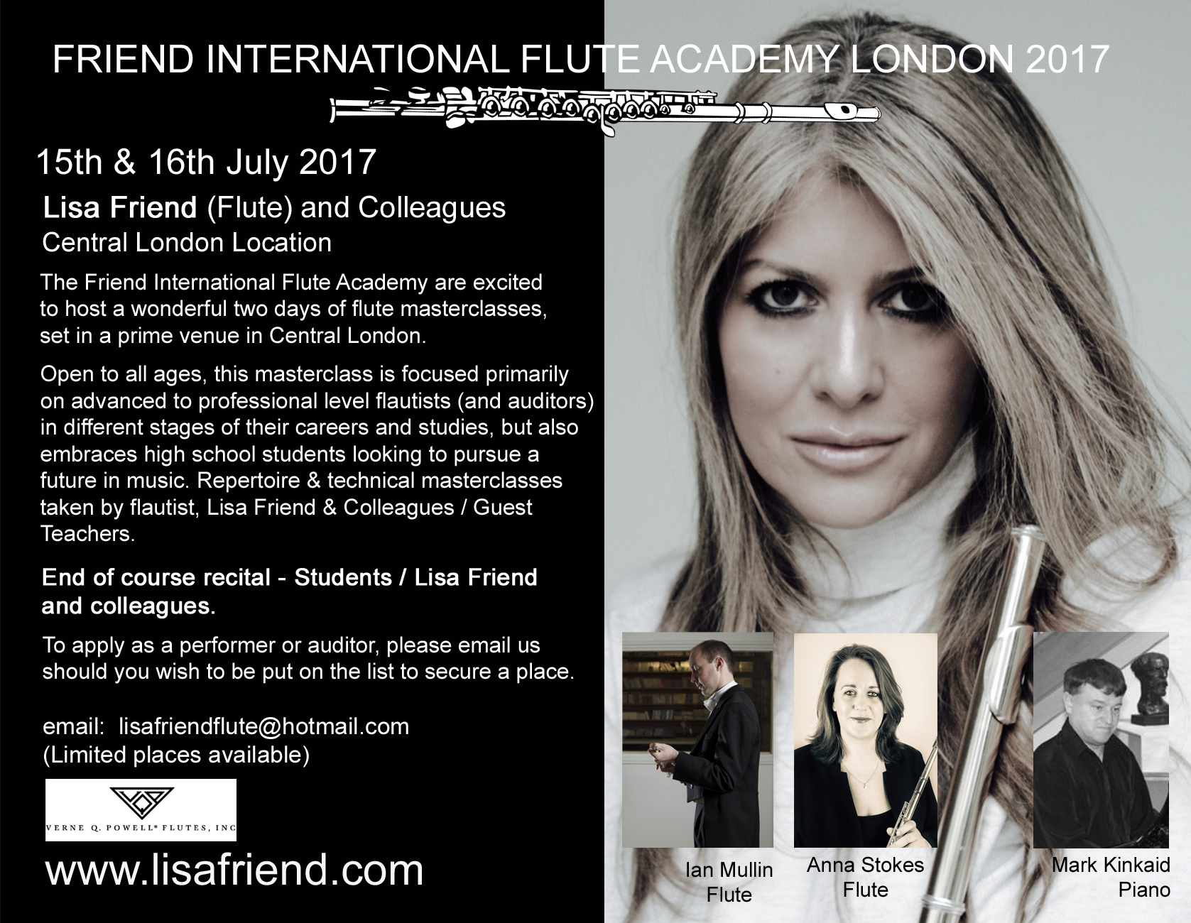 Friend International Flute Academy London 2017 with teachers FINAL 3a