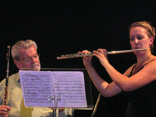 James Galway Masterclass Switzerland 2006 Interlaken-Anna Stokes Flute