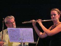 James Galway Masterclass Switzerland 2006 Interlaken-Anna Stokes Flute