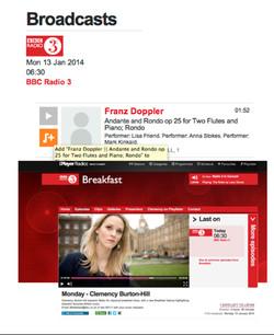 Luminance CD BBC Radio 3 Broadcast - Anna Stokes-Lisa Friend-Mark Kinkaid