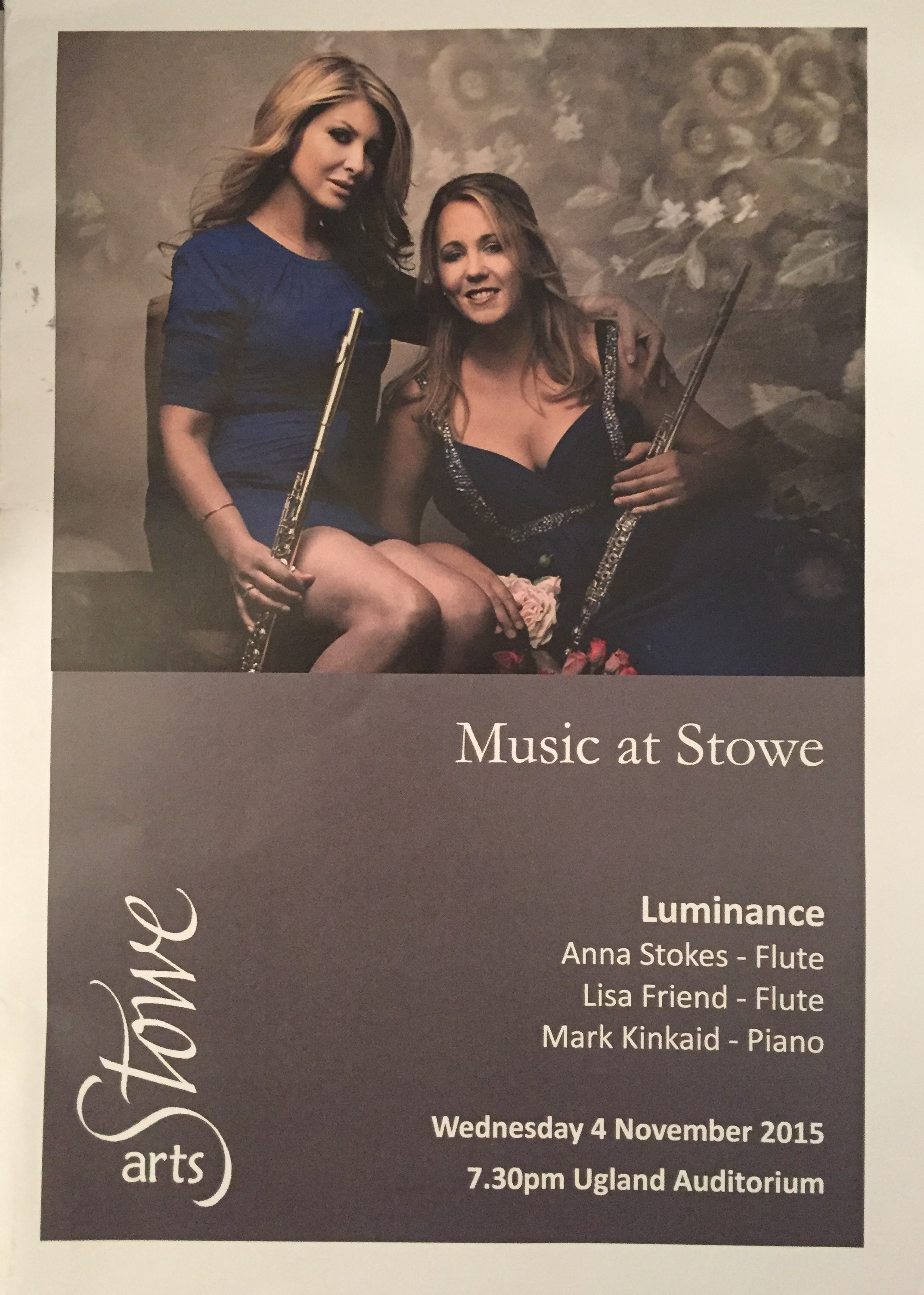 Music at Stowe-Lisa Friend and Anna Stokes-Luminance