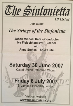 Anna Stokes-Flute-JS Bach Suite in B Minor with Sinfonietta of Oxted