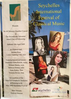 Seychelles International Festival of Music-Anna Stokes Flute