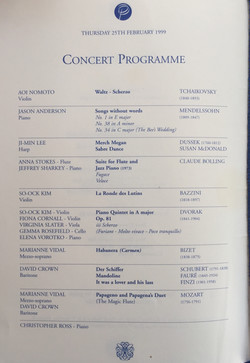 Gala Performance Cliveden-Purcell School-Anna Stokes Flute and Jeffrey Sharkey Piano