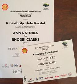 Qatar Foundation Concert Series-Anna
