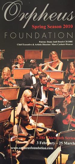 Anna Stokes - Orpheus Sinfonia