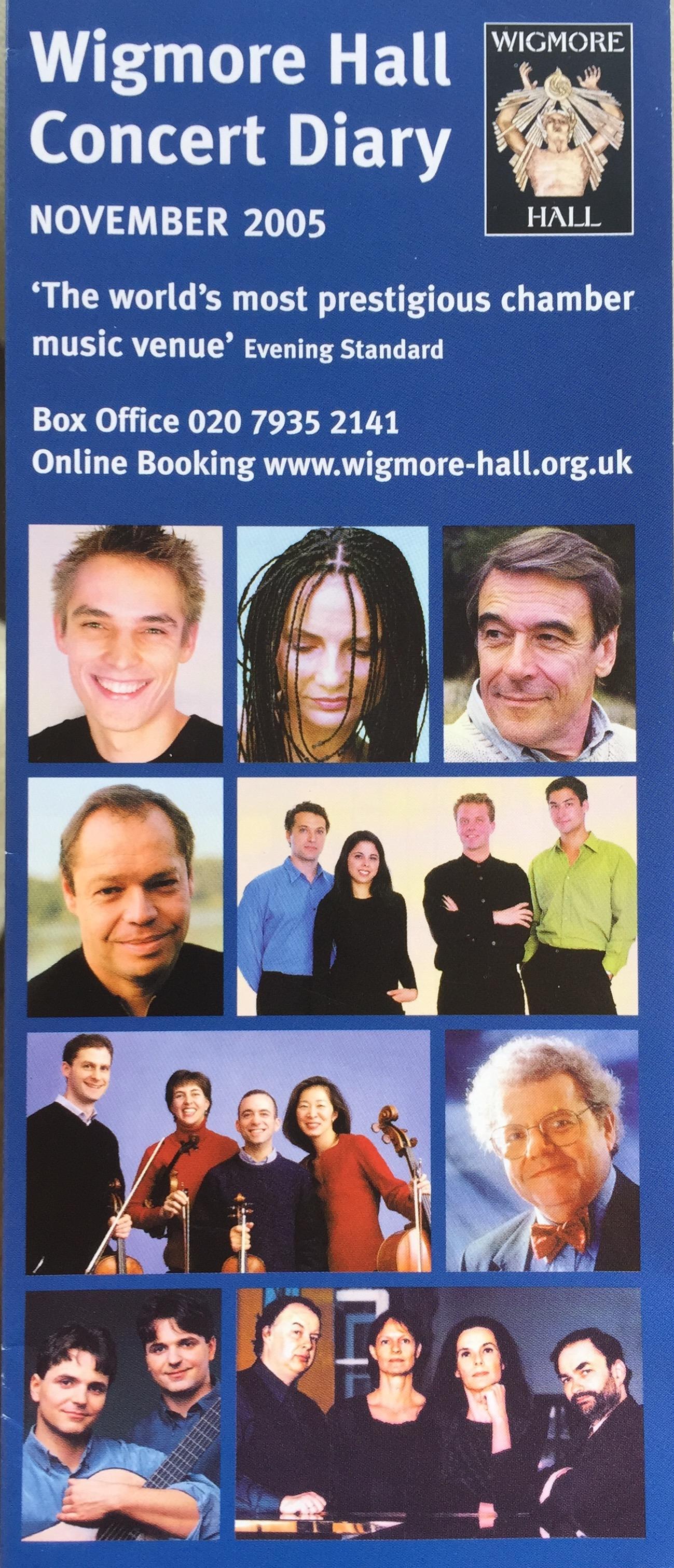 Wigmore Hall-Maw at 70-Emanuel Ensemble-Anna Stokes Flute