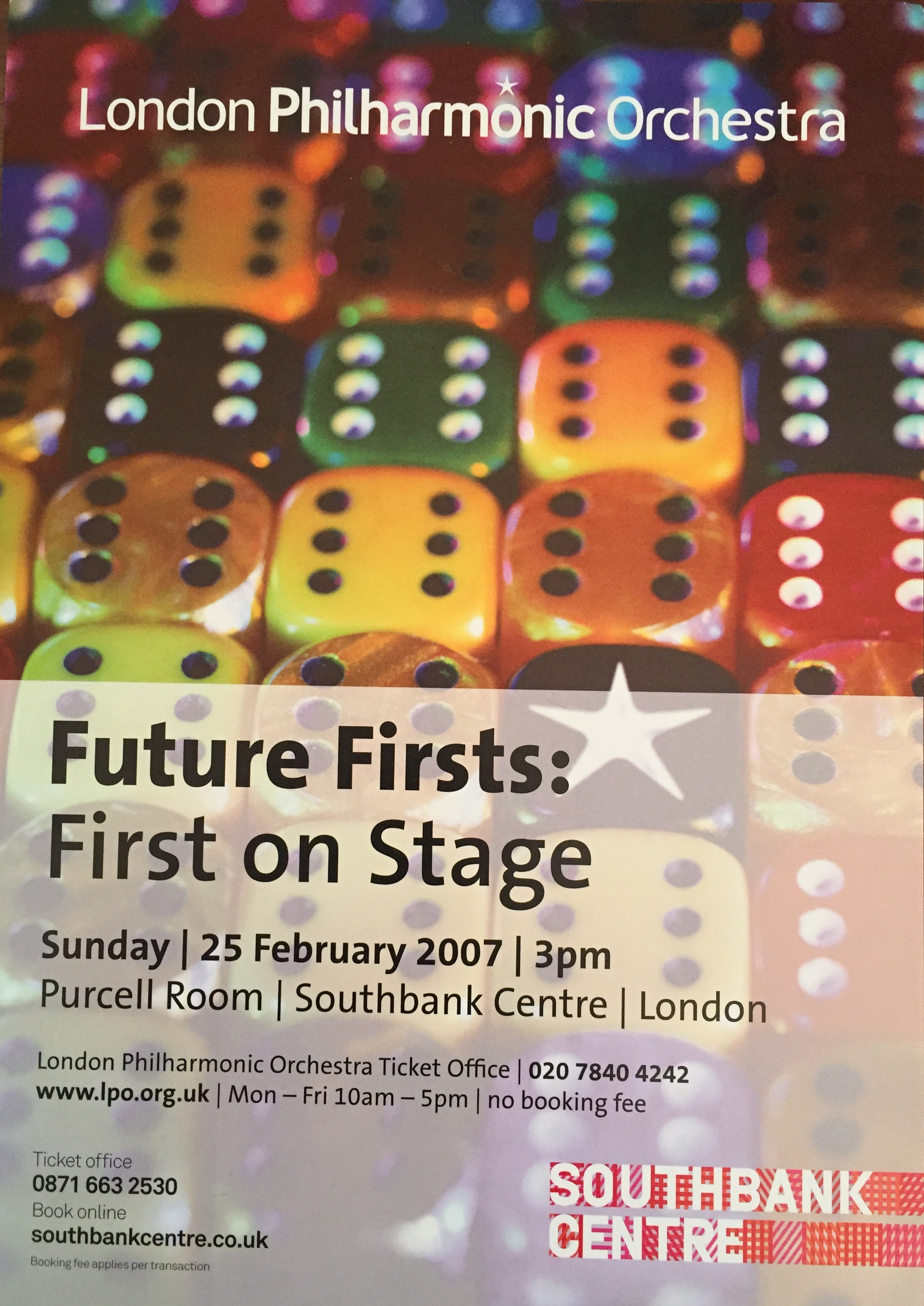 London Philharmonic Orchestra Future Firsts Concert Queen Elizabeth Hall-Anna Stokes Flute