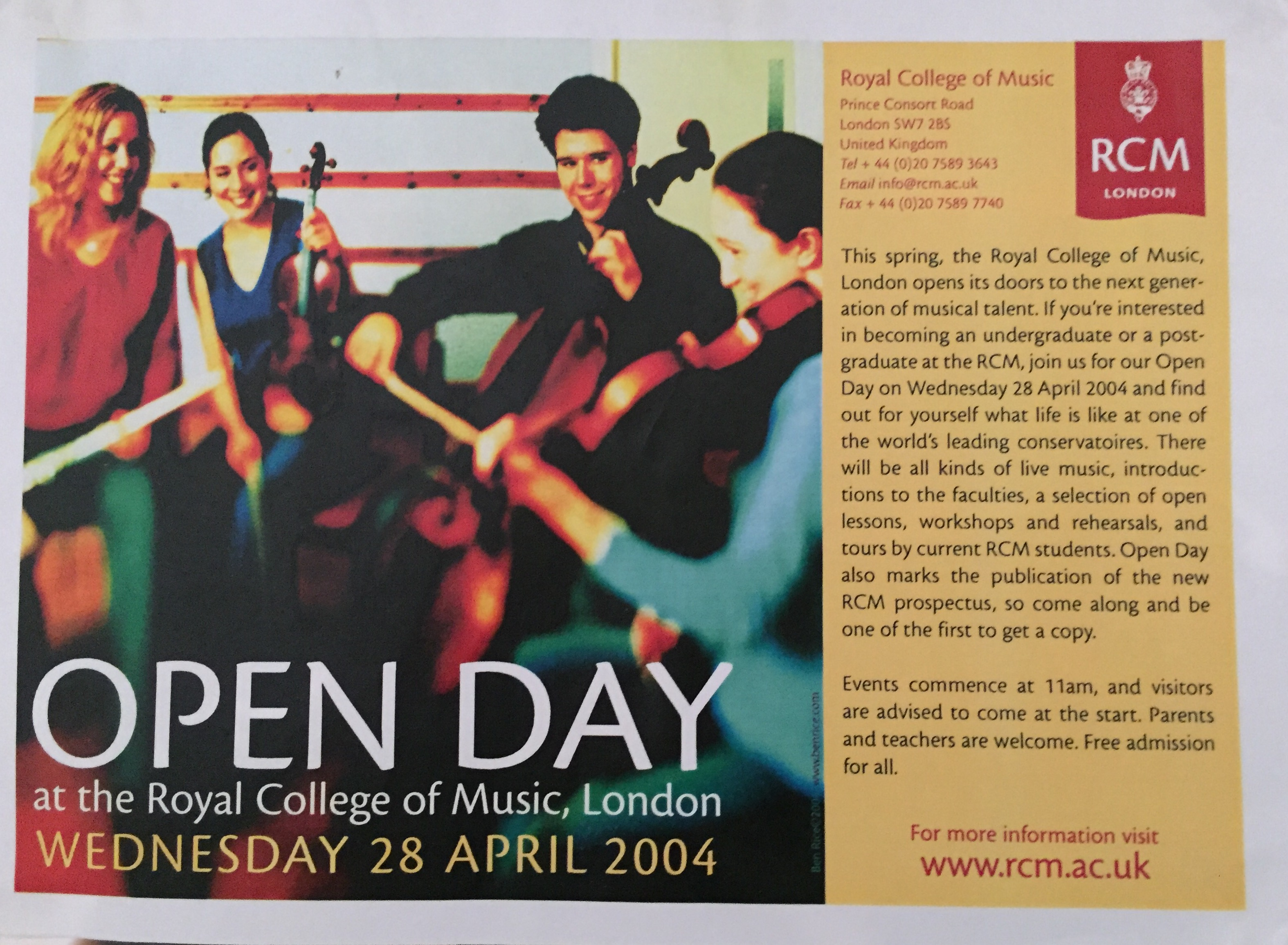 RCM Open Day-Emanuel Ensemble-Anna S