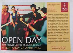 RCM Open Day-Emanuel Ensemble-Anna S