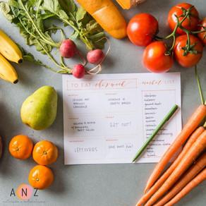 Como organizar a alimentação?