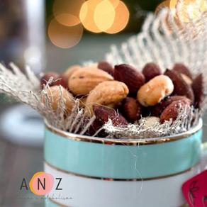 Snack saudável: nuts temperadas