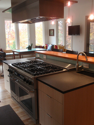 Contemporary kitchen in Marvin, NC