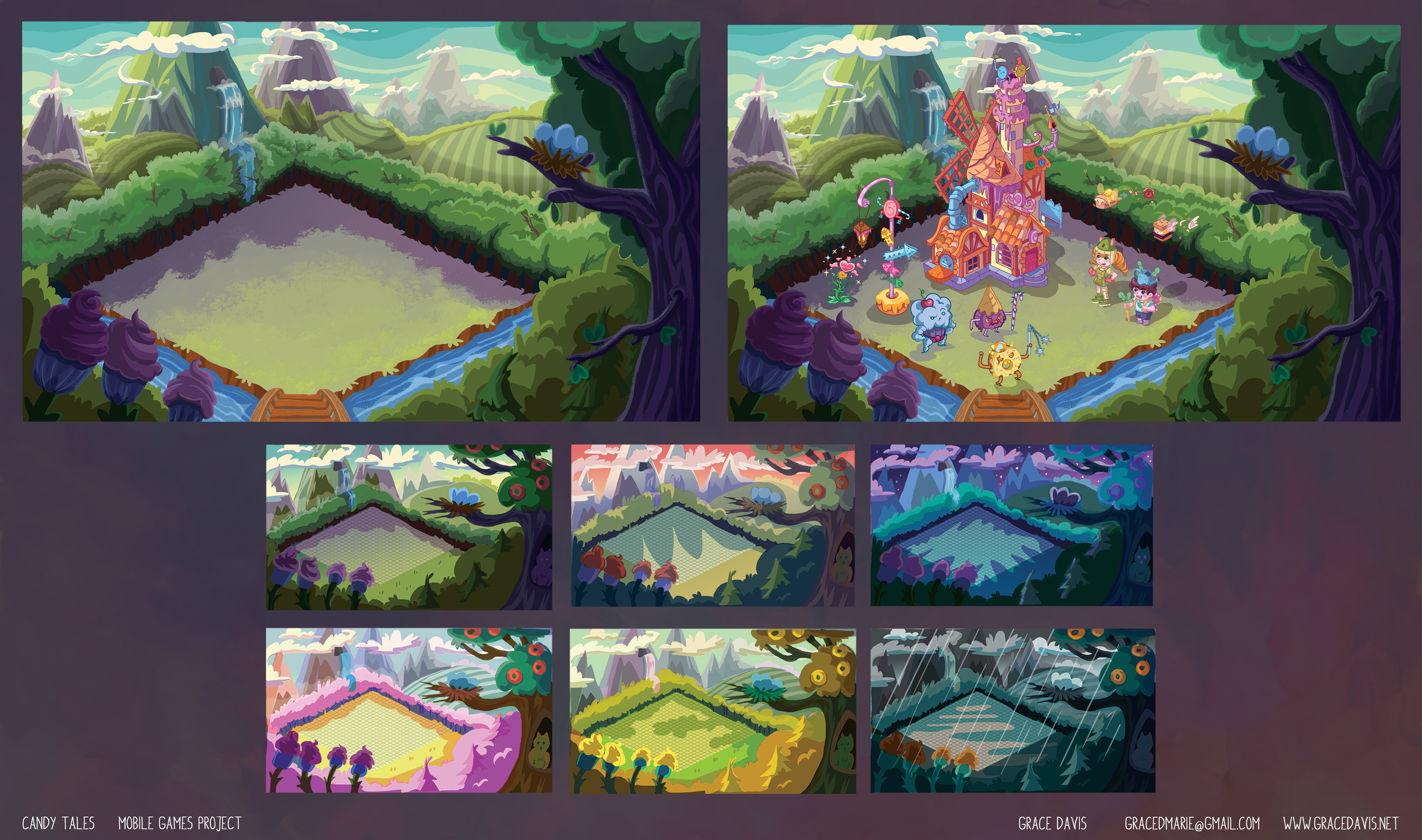 Mobile Game Color Studies