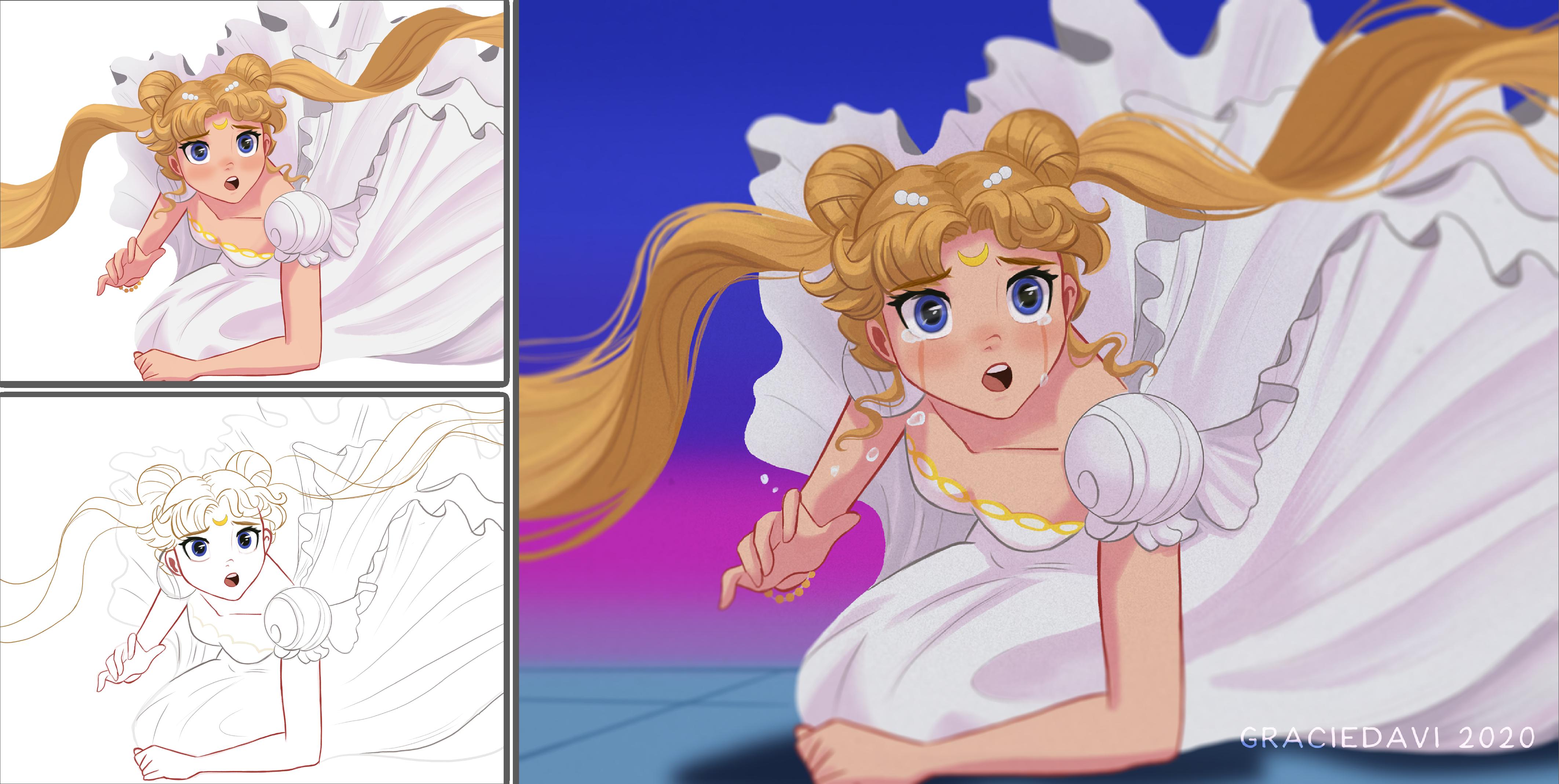 Sailor Moon Screencap Rework