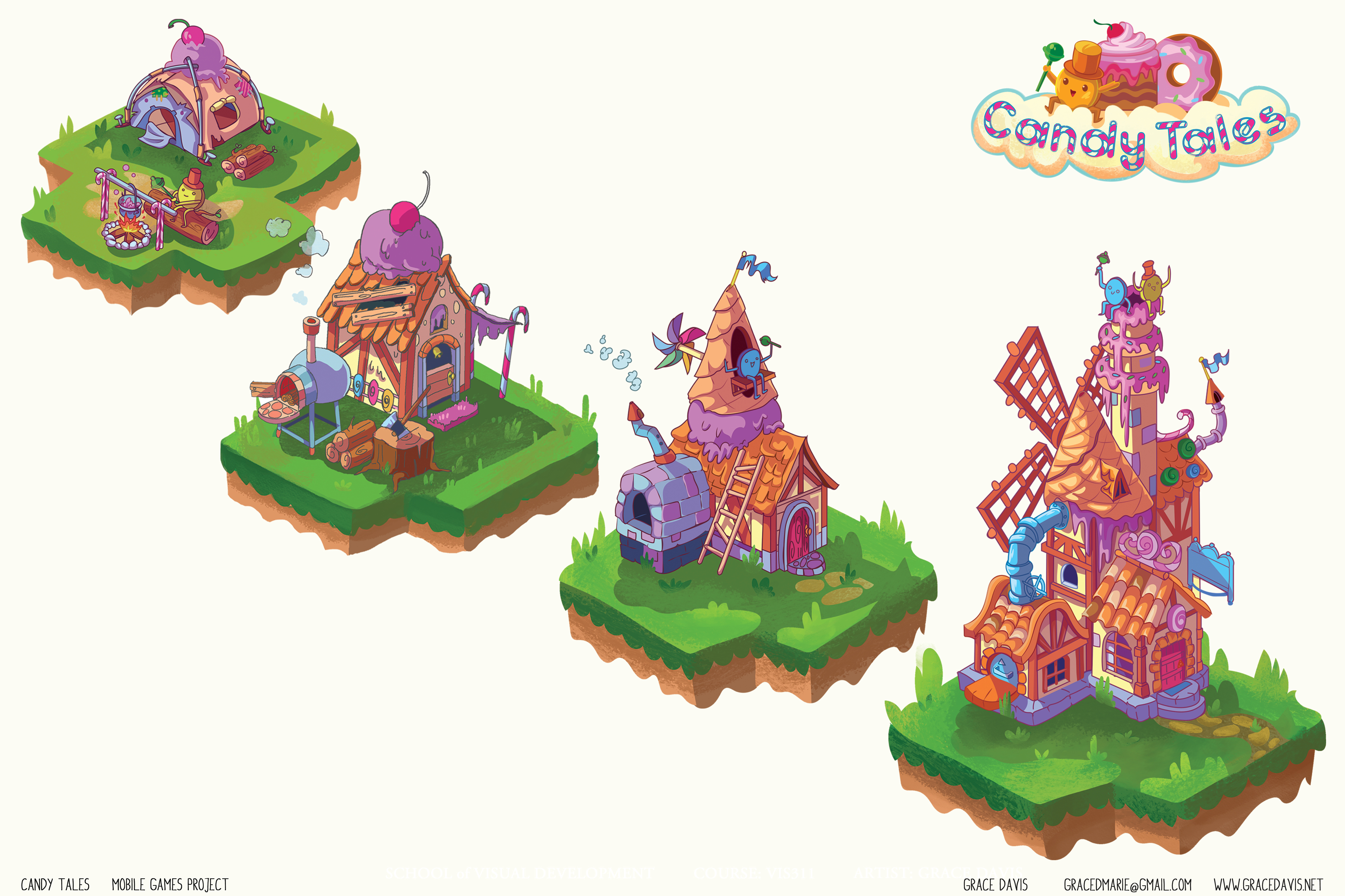 Candy Tale Buildable