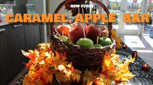 *New Event* Caramel Apple Bar