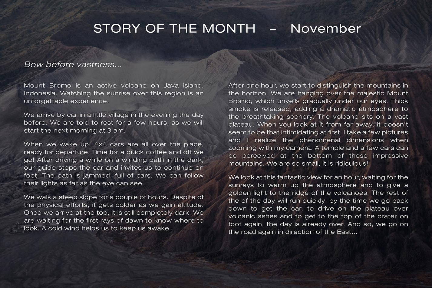 Story November ENG