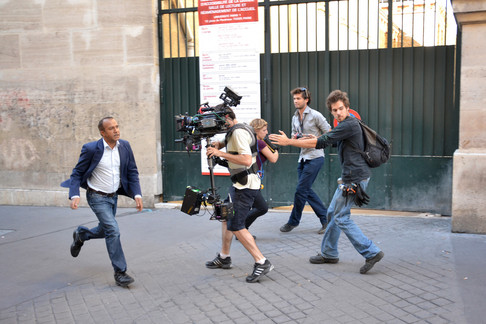 Behind the scenes - Pascal Légitimus