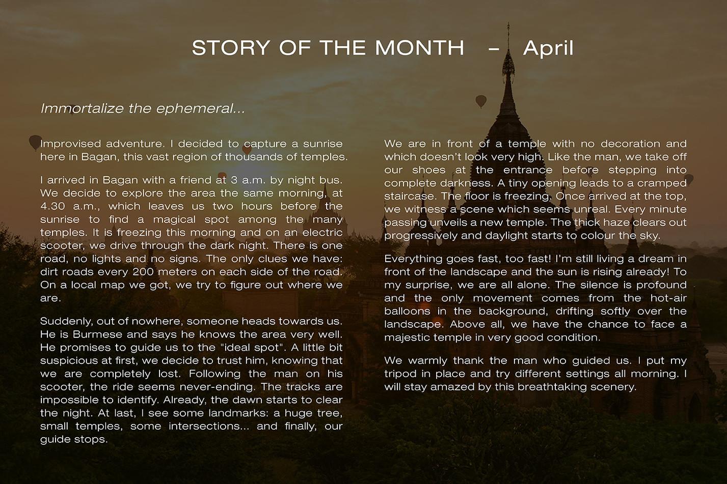 Story April ENG