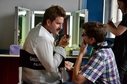 Behind the scenes - Grégoire Ludig, Palmashow