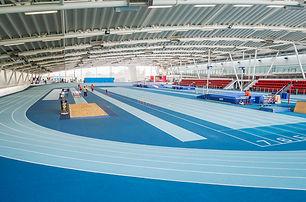 Indoor facilities at Lee Valley Athletics Centre