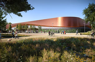 Artist's impression of the new Lee Valley Ice Centre