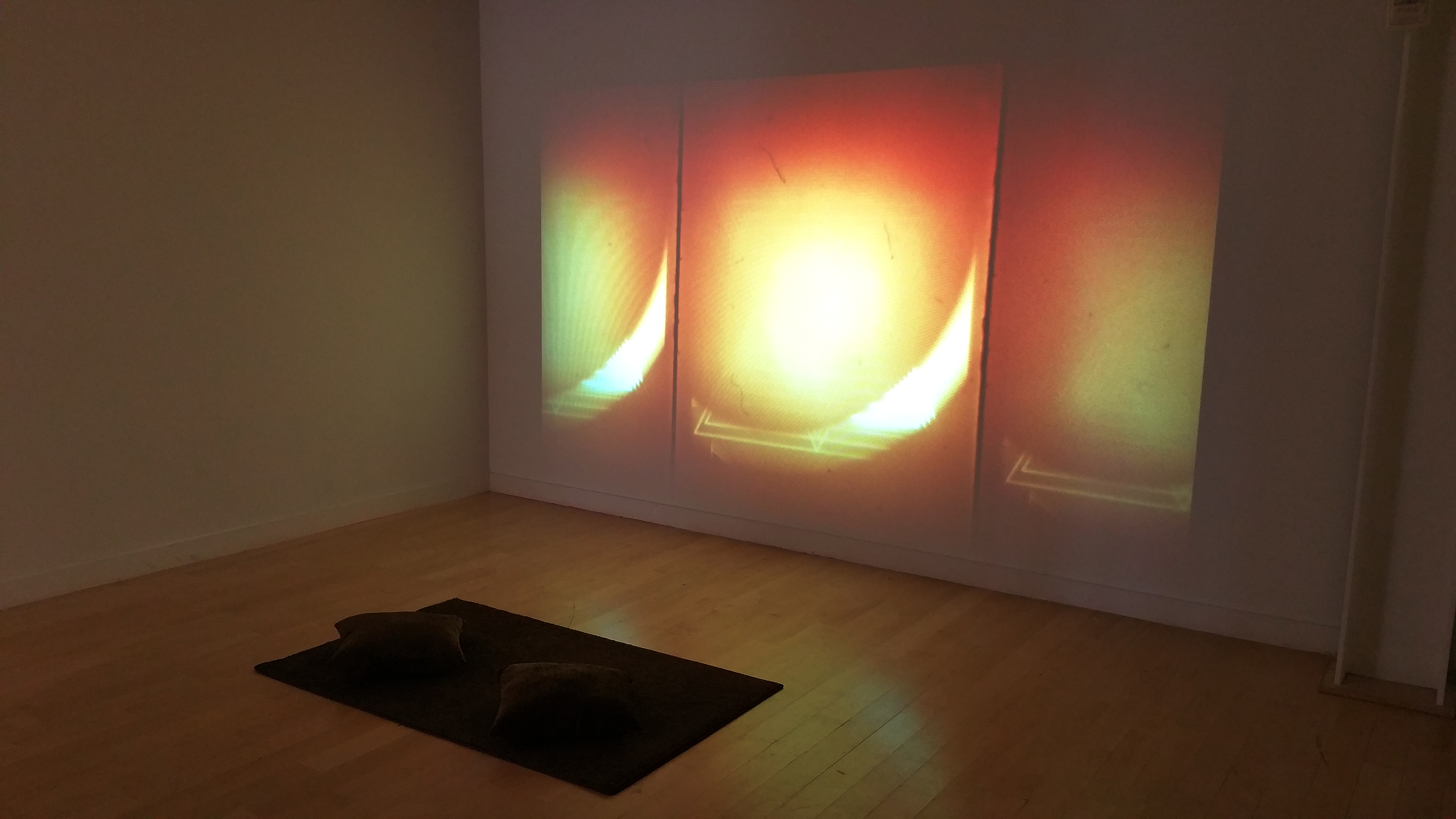 "Installation still of ""Asymptote"""